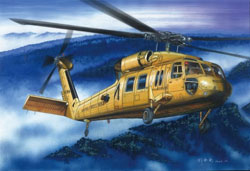 Hobby Boss 1:72 American UH-60A Blackhawk Helicopter, LIST PRICE $24.99