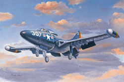 Hobby Boss 1/72 F9F-2 Panther Jet Fighter, LIST PRICE $25.99