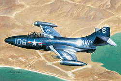 Hobby Boss 1/72 Grumman F9F-3 Panther Jet Fighter, LIST PRICE $21.99