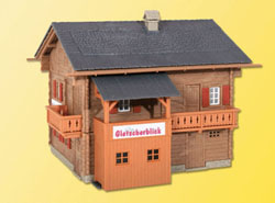 "Kibri HO Gletscherblick House -- 3-13/16 x 4 x 3-13/32""  9.5 x 10, LIST PRICE $30.99"