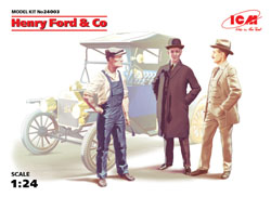 ICM MODELS HENRY FORD & COMPANY 1:24, LIST PRICE $18.99