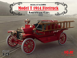 ICM MODELS 1914 American Mod T Fire T :24, LIST PRICE $49.99