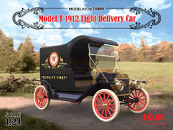 ICM MODELS 1912 Model T Light Deliv 1:24, LIST PRICE $48.99