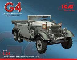 ICM MODELS G4 1935 PERSONNEL CAR 1:24, LIST PRICE $60
