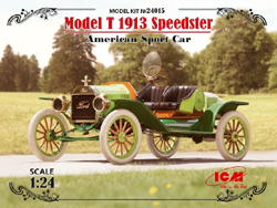 ICM MODELS Model T 1913 Speedster 1:24, LIST PRICE $29.99