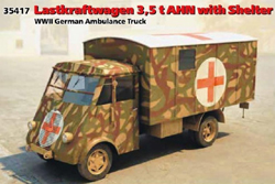 ICM MODELS German Lastkraft. Ambul 1:35, LIST PRICE $51.99