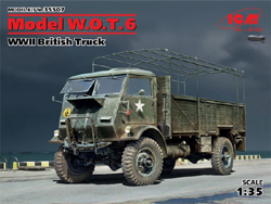 ICM MODELS WWII Model WOT 6 Truck 1:35, LIST PRICE $59.99