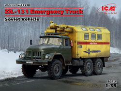 ICM MODELS Soviet ZiL131 Emergency 1:35, LIST PRICE $54.99