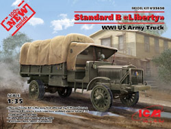 ICM MODELS WWI US Stndrd B Army Trk 1:35, LIST PRICE $59.99