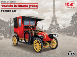 ICM MODELS Renault AG1 French Taxi1914:35, LIST PRICE $44.99