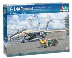 ITALERI 1:72 F-14A Tomcat 50th First Flight Anniversary , DUE 3/30/2020, LIST PRICE $39.99