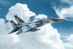 ITALERI 1:72 F-15C Eagle Aircraft , LIST PRICE $26.5
