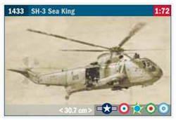 ITALERI 1:72 SH3 SEA KING APOLLO , DUE 8/30/2019, LIST PRICE $38.99