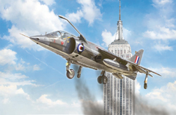 ITALERI 1:72 HARRIER GR1 50TH ANN , LIST PRICE $30.99