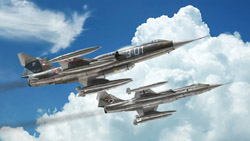ITALERI 1:32 F-104 Starfighter G/S Upgrd Ed w/Orpheus Recon Pod, LIST PRICE $151.99