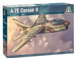 ITALERI 1:48 A-7E Corsair II , DUE 3/30/2020, LIST PRICE $49.99