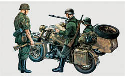 ITALERI BMW R75 W/Sidecar 1:35        , LIST PRICE $20