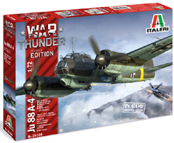 ITALERI 1:72 WT JU-88 A4 , LIST PRICE $39.99