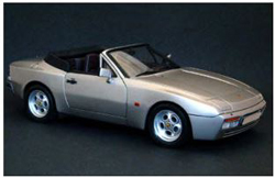 ITALERI 1:24 Porsche 944 S Cabrio , DUE 11/30/2019, LIST PRICE $48.99