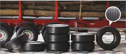 ITALERI TRILER RUBBER TYRES 1:24, LIST PRICE $23
