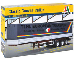 ITALERI Canvas Trailer 1:24, LIST PRICE $64.99