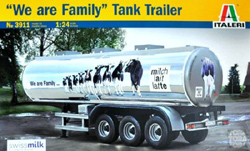 ITALERI The Family Tank Trailer 1:24, LIST PRICE $69.99