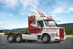 ITALERI 1:24 SCANIA T143H 6X2 , LIST PRICE $83.99