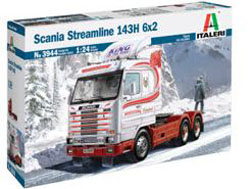ITALERI 1:24 Scania Streamline , DUE 3/30/2020, LIST PRICE $96.99