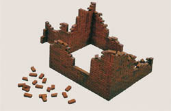 ITALERI BRICK WALLS  1:35             , LIST PRICE $16