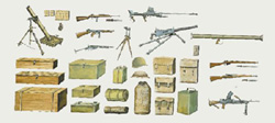 ITALERI ACCESSORIES 1:35, LIST PRICE $11.99