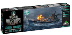 ITALERI World of Warships:UN Atago:700, LIST PRICE $49.99