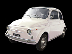 ITALERI Fiat 500F Version 1968 Car :12, LIST PRICE $179.99
