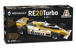 ITALERI 1:12 RENAULT RE20 TURBO , LIST PRICE $269.99