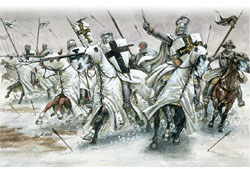 ITALERI TEUTONIC KNIGHTS 1:72         , LIST PRICE $15.5