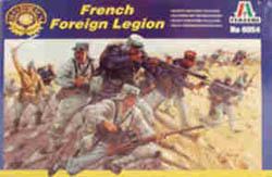 ITALERI FRENCH FOREIGN LEGION 1:72    , LIST PRICE $12.5