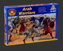 ITALERI ARAB/MUSLIM WARRIORS 1:72     , LIST PRICE $9.5