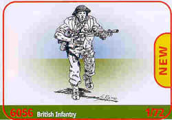 ITALERI BRITISH INFANTRY WW-II 1:72   , LIST PRICE $15.5