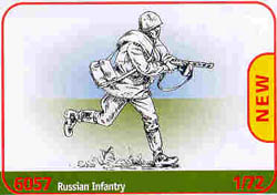 ITALERI RUSSIAN INFANTRY WW-II 1:72   , LIST PRICE $15.5