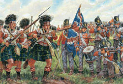 ITALERI BRITISH & SCOTS INFANTRY 1:72 , LIST PRICE $15.5