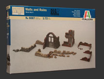 ITALERI ACCESSORIES & RUINS 1:72      , LIST PRICE $15.5
