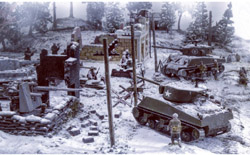 ITALERI Bastogne Dec 1944 1:72, LIST PRICE $79.95