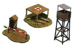 ITALERI BATTLEFIELD BUILDINGS 1:35    , LIST PRICE $15.5