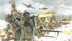 ITALERI German Infantry Winter 1:72, LIST PRICE $13.95