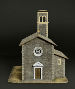ITALERI Church Diorama 1:72, LIST PRICE $44.99