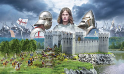 ITALERI 1:72 100 Years' War - Castle Under Siege , LIST PRICE $118.99