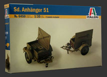 ITALERI 50 ANHANGER 51 1:35           , LIST PRICE $13.5