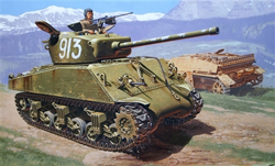 ITALERI M4A2 76mm Wet SHERMAN 1:35    , LIST PRICE $54