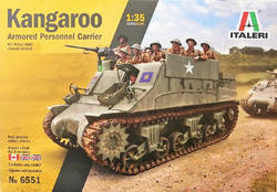 ITALERI 1:35 Kangaroo  , DUE 6/30/2019, LIST PRICE $42.99