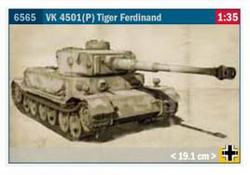 ITALERI 1:35 VK4501 P TIGER FERND , DUE 8/30/2019, LIST PRICE $2.99
