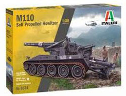 ITALERI 1:35 M110 Self Propelled Howitzer , DUE 3/30/2020, LIST PRICE $51.99